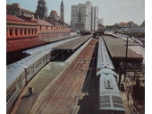 92 - Diesel trains at Central Station