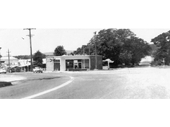 96 - The old Pacific Highway turn from City Road to Main St in Beenleigh