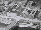 98 - An early plan for a riverside expressway