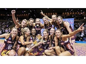 104 - The Queensland Firebirds after winning the national competition in 2011