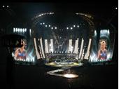 110 - Robbie Williams performing at Suncorp Stadium
