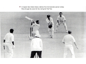 12 - Sir Garfield Sobers playing a drive during the Tied Test