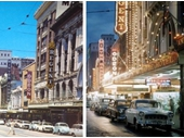 133 - Queen St theatre district in the 1950's