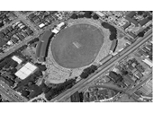 19 - The Gabba from the air during a Test match