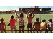 25 - Some kids watching a test against Pakistan in 1976