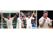 41 - Queensland bowlers Craig McDermott, Michael Kasprowicz and Andy Bichel