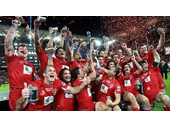 53 - Queensland Reds after winning the 2011 Super Rugby