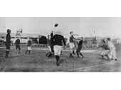 56 - The 1907 Brisbane Aussie Rules grand final at the Gabba