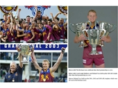 60 - The Brisbane Lions win three premierships in a row (2001-03)