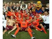 64 - The Brisbane Roar win the 2011 A League
