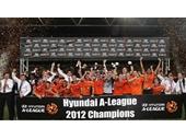 65 - The Brisbane Roar win the 2012 A League