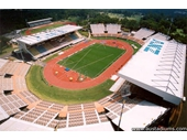 86 - The QSAC stadium formerly QEII and ANZ stadiums which held the athletics at the 1982 Commonwealth Games