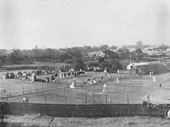 89 - An early photo of tennis at Milton