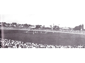 8 - The Gabba in 1933 during the Bodyline series