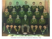 09 - 1950 Australian team v Great Britain