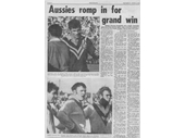 25 - 1970 Australia v Great Britain test