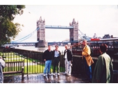 L20 - Trevor,Wayne and I at the Tower Bridge