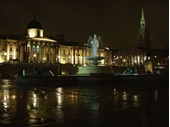 L49 - Trafalgar Square at night 01