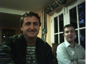 Wales 51 - Gary and I in Wales on my PC webcam