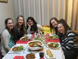 05 - 2015 Dinner at mum's with some of our young ladies