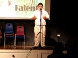 19 - UCG's Got Talent Show - Me as Pope Luigi Guiseppi