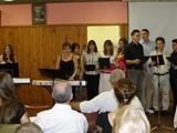 58 - Young Choir performing at Samford church campout