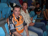 70 - Jason Smith and Chris Thurley at Titans game