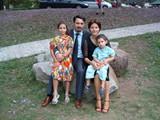 73 - Sal and Anita Anastasi and their kids Sara and Georgio