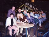 99 - A group of us up at Mt Cootha Lookout before 1998 FOT