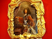 69 - Louis XIV painting in Chateau Chenonceaux