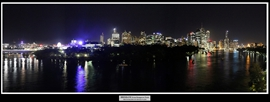 09 Brisbane from Kangaroo Point by night
