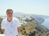 54 - Yours Truly on Santorini