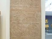 66 - Mycenae Stela - Possible depiction of Red Sea crossing