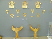 70 - Athens Museum - Gold from Mycenae