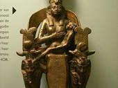 22 - Egyptian goddess statue in Leiden Museum