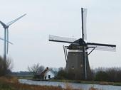 35 - Windmills near The Hague