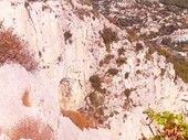 11 - Climber on Cliffs behind Monte Carlo