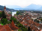17 - Thun from Thun Castle