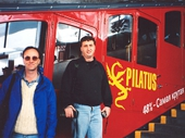25 - Trevor and I about to head up to Mt Pilatus