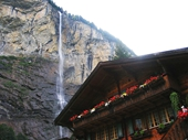 35 - Staubbach Waterfall and Swiss Chalet