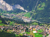 51 - Lauterbrunenn Valley from above