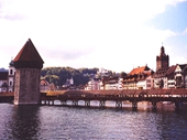 76 - The Chapel Bridge in Lucerne