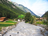94 - Stream in Grindelwald valley