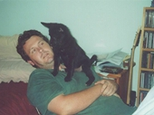 17 - Chris with Piggy as a pup