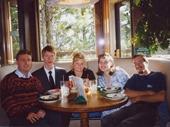 16 - David, Kellie, Jen, Spice and I at Jackson Hole 1997