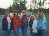17 - A few of the girls at Yellowstone National Park