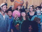 18 - Fancy Dress Party at Jackson Hole Feast 1997