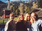 26 - Some girls at Jackson Hole resort