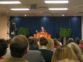 35 - UCG Home Office - Tom Kirkpatrick speaking at Sabbath services