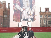 23 - Claire & Gary at Hampton Court